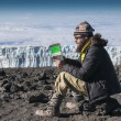 The snows of Kilimanjaro — Stock Photo
