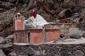 Sidi Chamharouch Muslim shrine — Stock Photo