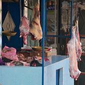 The local butcher, Imlil — Stock Photo