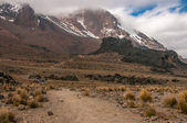 Heading to Lava Tower, Kilimanjaro — Stock Photo