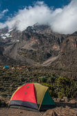 Camping at Barranco, Kilimanjaro — Stock Photo