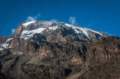 Kilimanjaro from Barranco campsite — Stock Photo