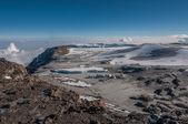The Western Breach, Kilimanjaro — Stock Photo