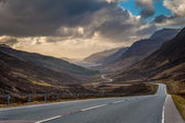 Driving to Torridon — Stock Photo