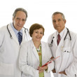 Medical team seniors — Stock Photo