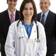 Hospital administration team — Stock Photo