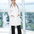 Portrait of female doctor — Stock Photo #33973297
