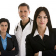 Male doctor and businesswomen — Stock Photo