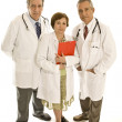 Three senior doctors — Stok fotoğraf