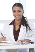 Medical student studying — Stock Photo