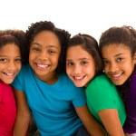 Multi-ehtnic females friendship — Stockfoto
