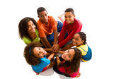 Teenagers team — Stock Photo