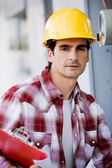 Constrcution Worker — Stock Photo
