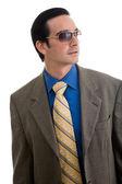 Jeune homme portant des lunettes — Photo