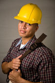 Young Construction Worker — Stock Photo