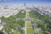 View on Paris from the Eiffel Tower — Stockfoto