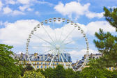 Paris, Ferris wheel. — Foto de Stock