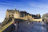爱丁堡城堡,东认为苏格兰 — 图库照片