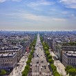 Avenue des Champs-Elysees, PARIS — Stock Photo