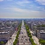 Avenue des Champs-Elysees, PARIS — Stock Photo #42871219