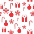 Seamless pattern for Christmas design — Stock Vector