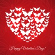 Happy Valentine's Day Card — Imagen vectorial
