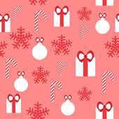 Seamless pattern for Christmas design — Stock Vector