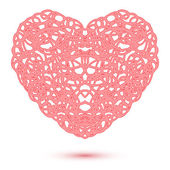 Abstract Openwork Heart — Wektor stockowy