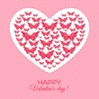 Happy Valentine's Day Card — Stock Vector