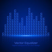 Glass Equalizer — Stock Vector
