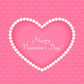 Happy Valentine's day Card — Vetor de Stock