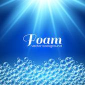 Foam Background — Stock Vector