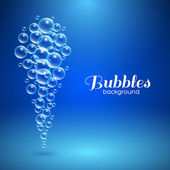 Air Bubbles Background — Stockvektor