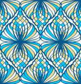 Mosaic Seamless Pattern — Stock Vector