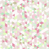 Light Seamless Pattern of Triangles — ストックベクタ