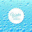 Water Background with Bubbles — Stock Vector #49574419