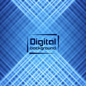 Abstract Digital Background — Stock Vector