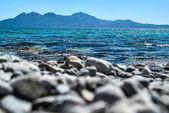 Sea and mountain — Stock Photo