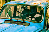 Old blue car — Stock Photo