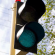 Green light signal — Stock Photo