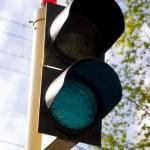 Green light signal — Stock Photo #34905805