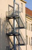 Escalera de incendios — Foto de Stock