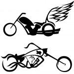 Motorbikes — Stock Vector