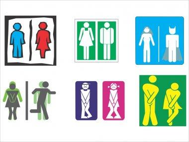 Restroom, Toilet, Wc symbol