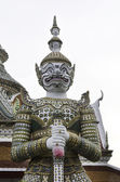 Thai style giant in temple — Stock Photo