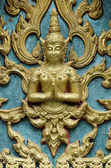 Siam style angel in temple — Stock Photo