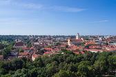 Cidade velha de vilnius, lituânia — Fotografia Stock