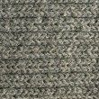 Gray knitted background — Stock Photo