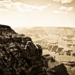 Grand Canyon oldie effect — Stock Photo