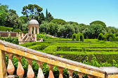 Horta Labyrinth in Barcelona, Spain — Stock Photo